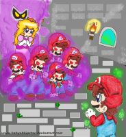 Dreamy Mario Battle by BabyAbbieStar