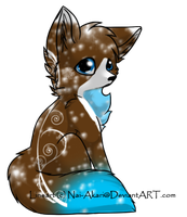 Winter Fox Adoptable-CLOSED- by FluffehSabex