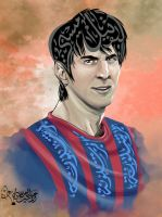 Lionel Messi by Ali-Shobbar
