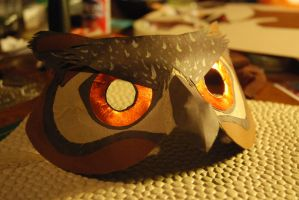 Owl Mask by themysticmuffin