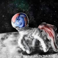 Smart Brain on the moon by telimbo