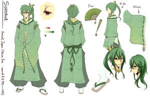 Commish: Serperior design. by crino-line