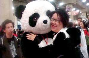 Spaz with Panda by TheSpazOutLoud