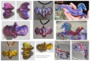 Chameleon Pigment Experiments by soulofwinter