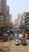 Hong Kong Street by Seans-Photography