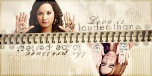 Love is louder than... by 0nlyFame