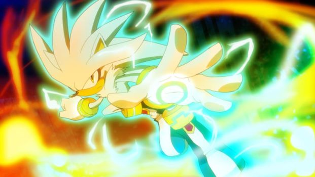 Silver The Hedgehog by LadyGT