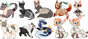 batch of cheebs for bentspoons by cinnabutt