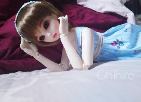 Relaxing with Chihiro :) by Mikhairu20