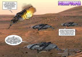 The battle for Mars begins... by plumptopia