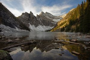 Lake Agnes by pidinski