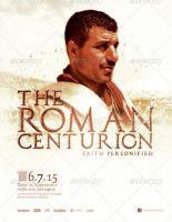 The Roman Centurion Church Flyer Template by loswl