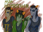 Homestuck - 3 Signs by KokiKariya