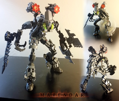 Marendar, the Toa Slayer (MOC) by Llortor