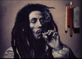 Bob Marley by CallieFink