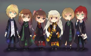Pottermore Family by kayoru