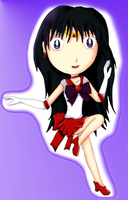 Chibi Sailor Mars by IceDragonCosplay