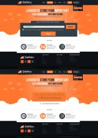 Upload Site Web Design by vasiligfx
