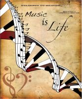 Music Is Life by Murd3r0tica