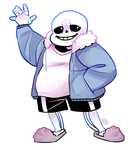 Sans by RoadkillFox