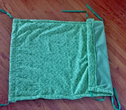 Home made stroller blanket by anamazami