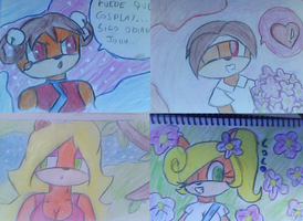 some draws at pencil XD by ShortyCream97