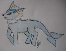 [request] #134 Vaporeon ponified by DreamDrifter91