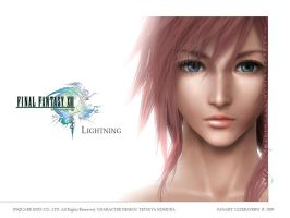 FFXIII: White Lightning by lyzeravern