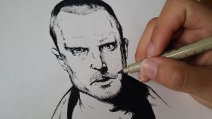 Drawing Jesse Pinkman, from Breaking Bad by SamuelEliasYT