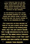 Choices Opening Crawl by ShadowsInTheStorm