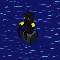 Poor Enderman by Gwaveproductions