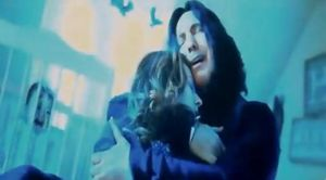 HP: Severus holds Lily by Before-I-Sleep