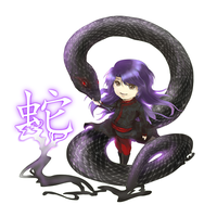 Commission-Snake Chinese Zodiac by Azhriel
