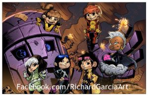 Lil X-Men by irongiant775
