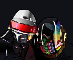 Daft Punk by Marvelrulez