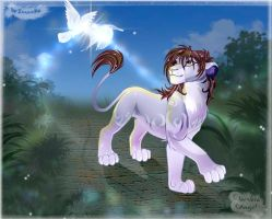 Ketty and the birds by Light-Angel-Vera