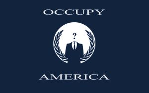 Occupy America T-Shirt by Attani