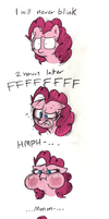 Pinkie Stare Master by Mickeymonster