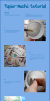 Tutorial Papier-Mache by InvisibleJune