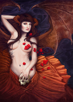 Commission: Succubus by CAHess