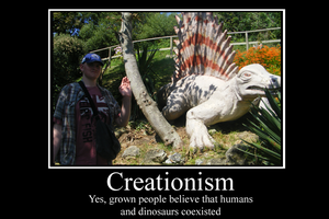Creationism Demotivator by Party9999999