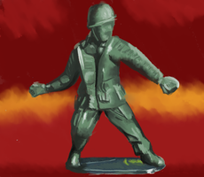 soldier toy by oridan2