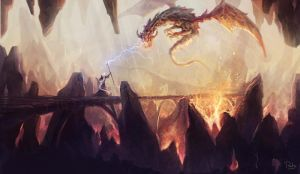 Dragon Nest by rodg-art