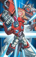 Robots in Disguise Optimus Prime by Dan-the-artguy