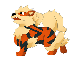 Arcanine - I Choose You by RecklessKaiser