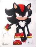 Shadow the Hedgehog Painting by LightningGuy