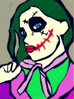 Girl joker by katval1