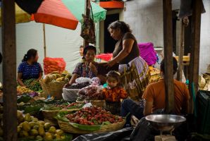 Colors of a market by SantiBilly