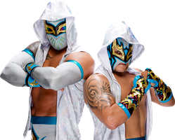 Lucha Dragons Renders 2 by WWEPNGUPLOADER