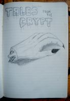 Tales from the Crypt Drawing by uuuuuargh